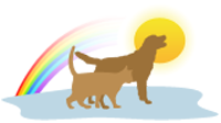 Memorial Pet Loss Products-Just Over The Rainbow Bridge