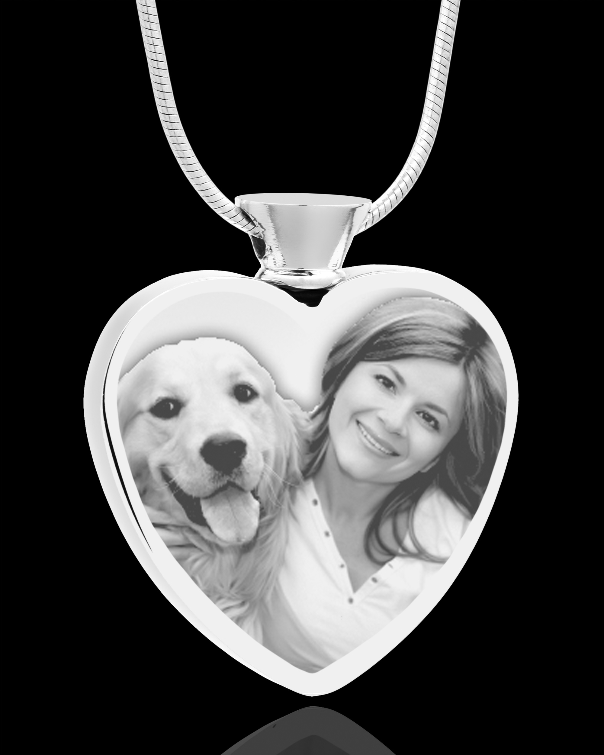 Jewelry Keepsakes81-3528Photo Eng Heart Stainless Crem Pet Pendant.jpg813