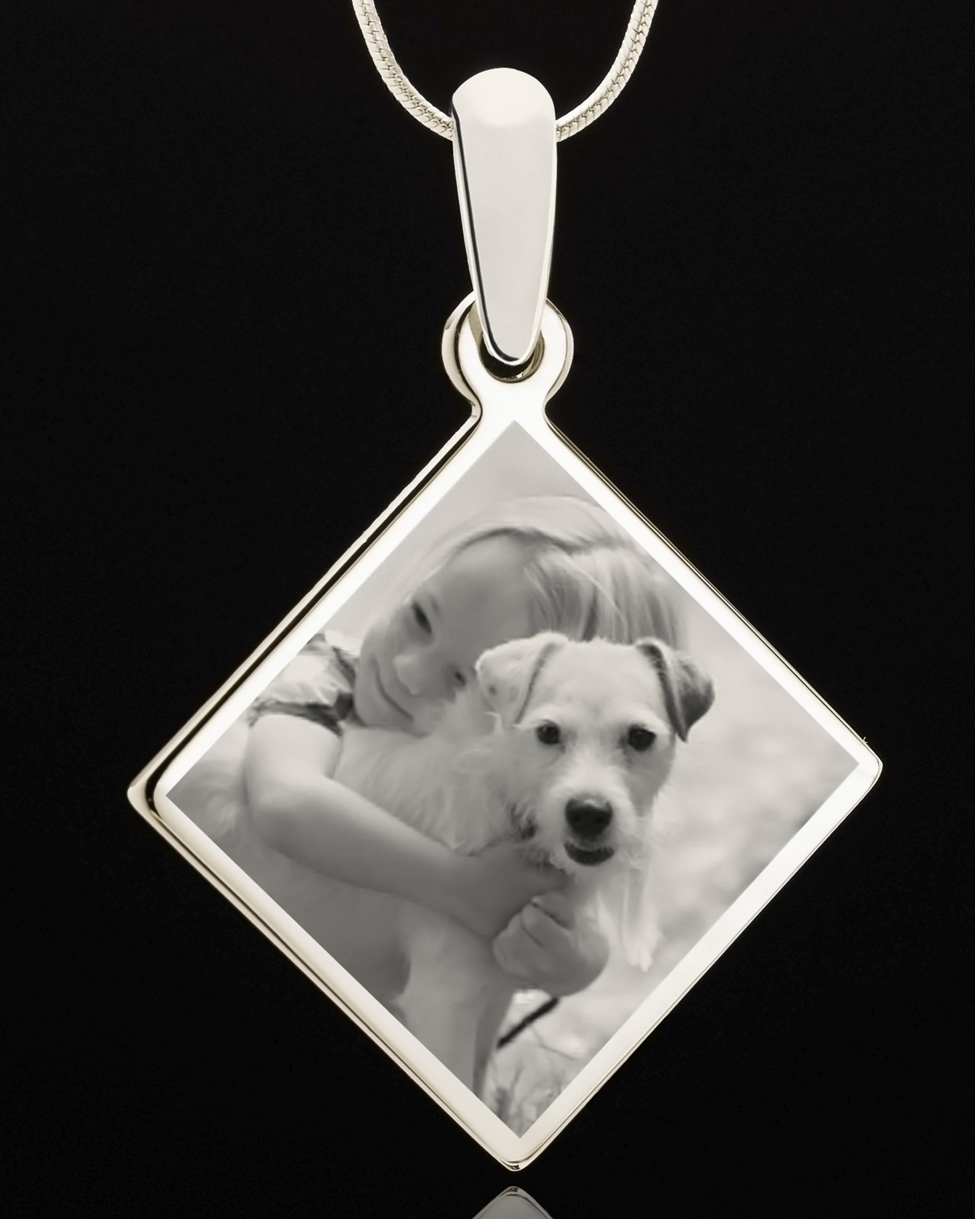 Jewelry Keepsakes81-939Photo Eng Diamond Pet Pendant Stainless.jpg807